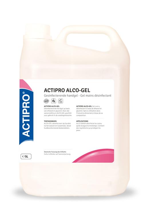 ACTIPRO alco-gel ontsmett.werking HY1066