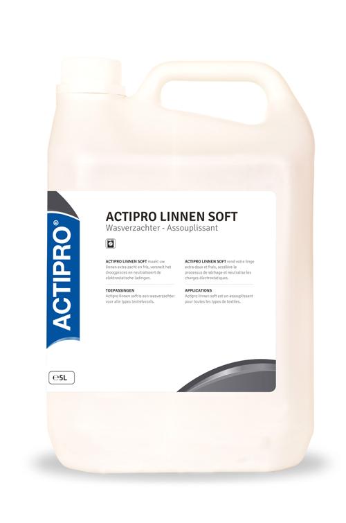 ACTIPRO linnen soft wasverzachter wit