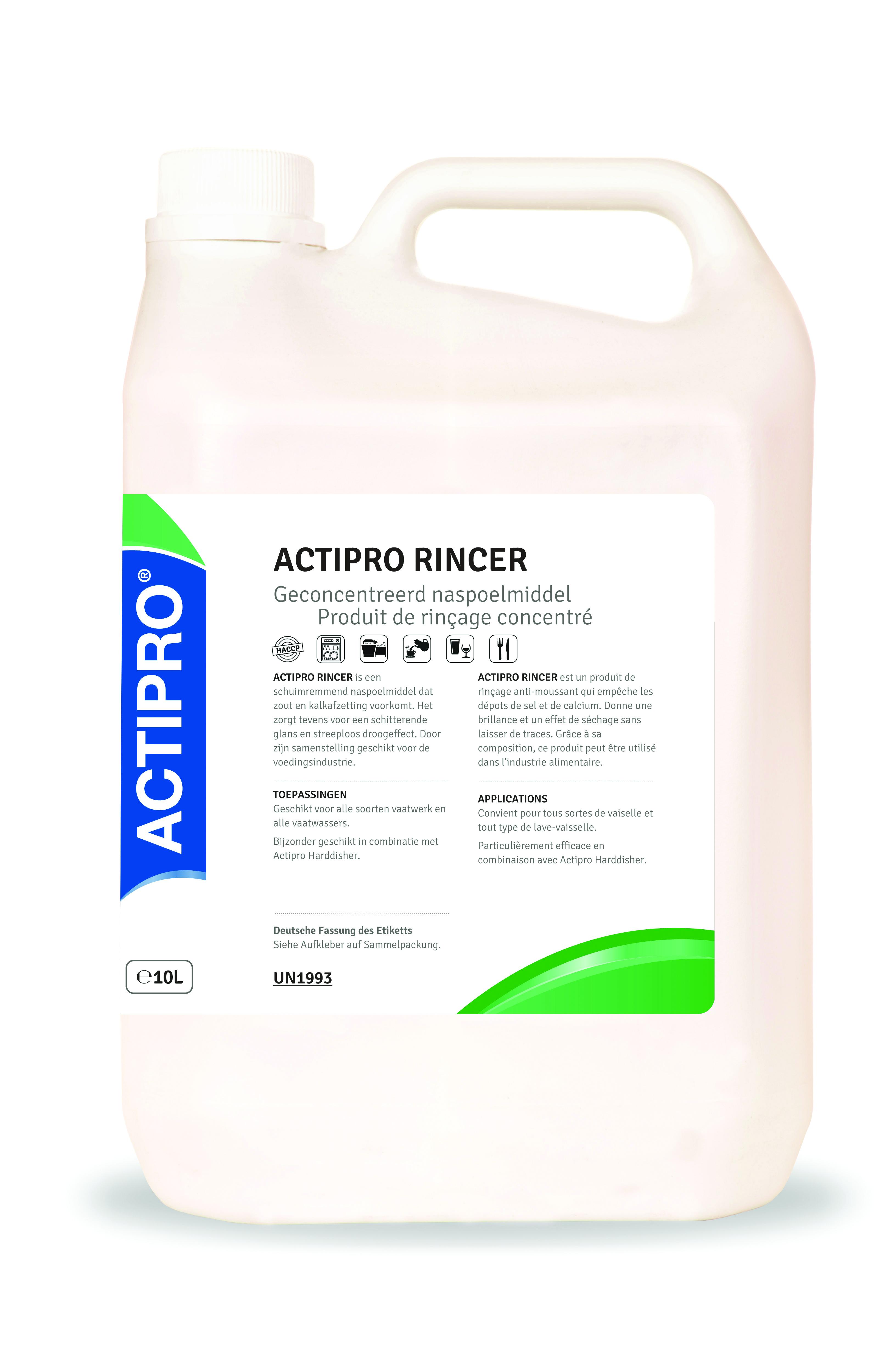 ACTIPRO spirax rincer naspoelmiddel