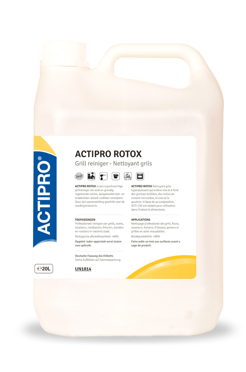 ACTIPRO rotox grill reiniger