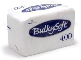Bulky Soft serviet cell.1lg wit 1/4 vouw