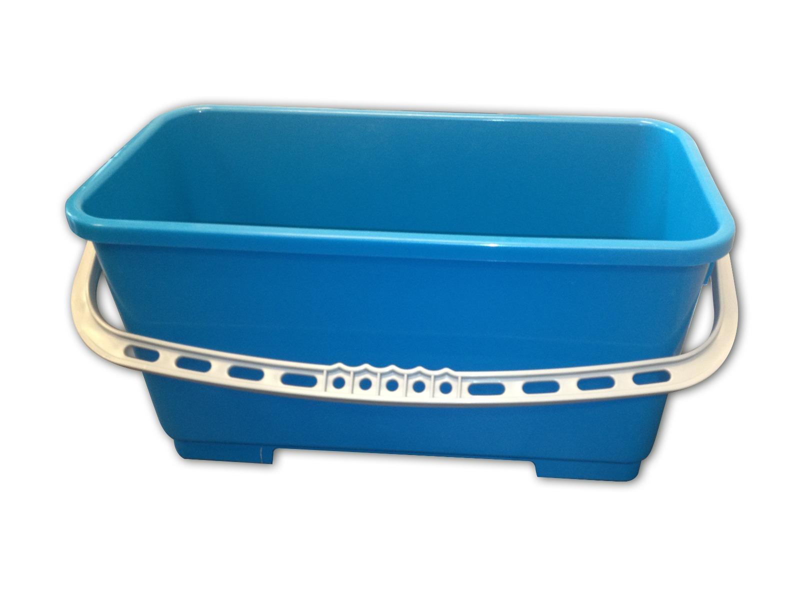 CLEANLINE rechthoekige emmer blauw