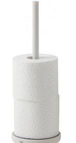 CLEANLINE houder toiletrol wit pvc