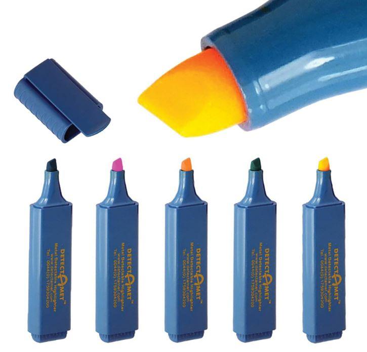 CLEANLINE fluo markeerstift blauwe huls