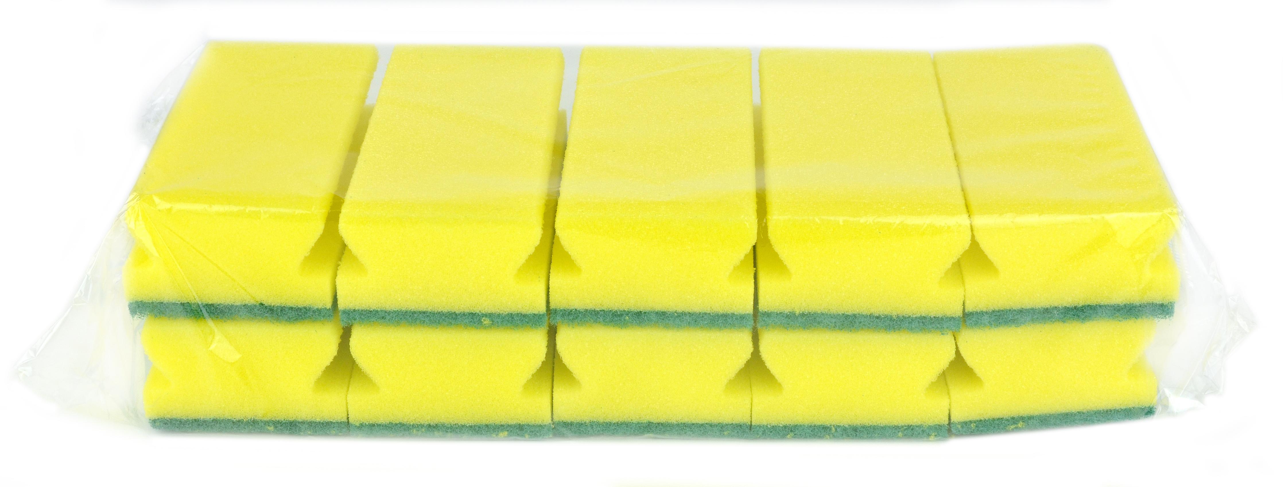CLEANLINE schuurspons hard groene pad