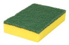 CLEANLINE schuurspons geel hard