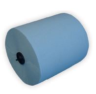 Handdoekrol blauw cellulose 150m