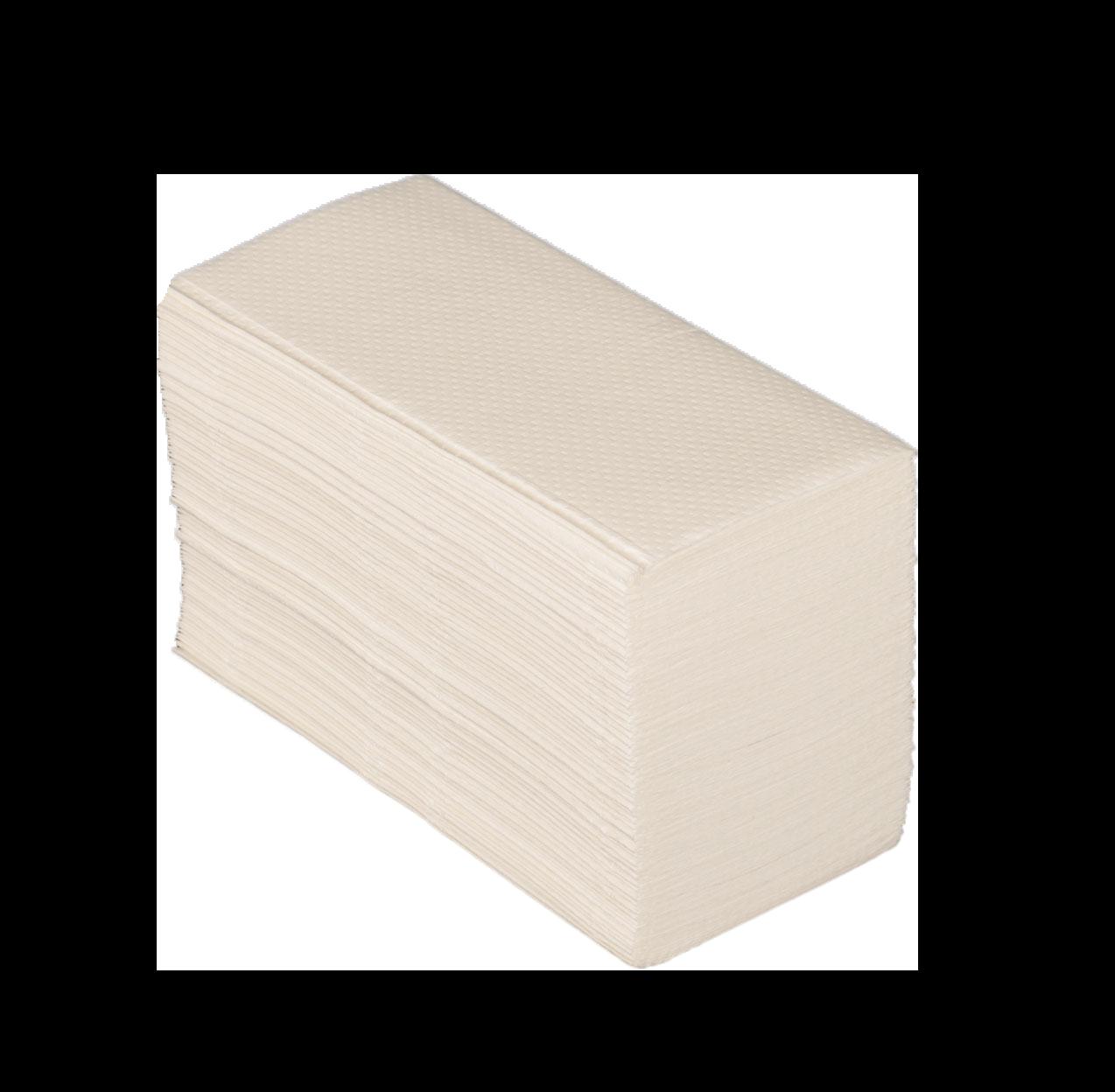 HANDTOWEL - White Vfold 21x22cm (mix.2p)