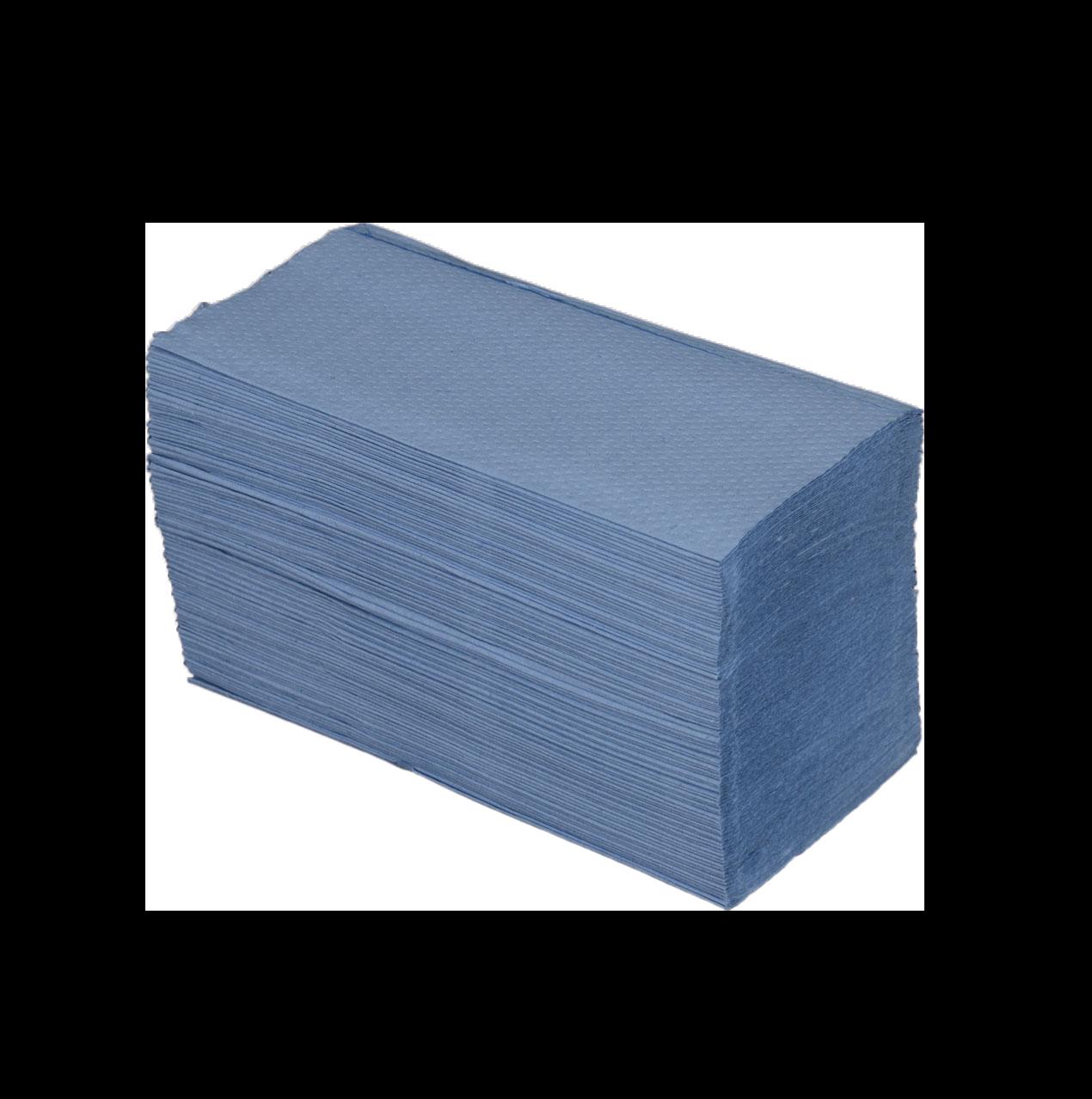 HANDTOWEL - Blue Vfold 21x22cm (cel.1p)