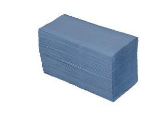 HANDTOWEL - Blue Vfold 21x22cm (cel.2p)