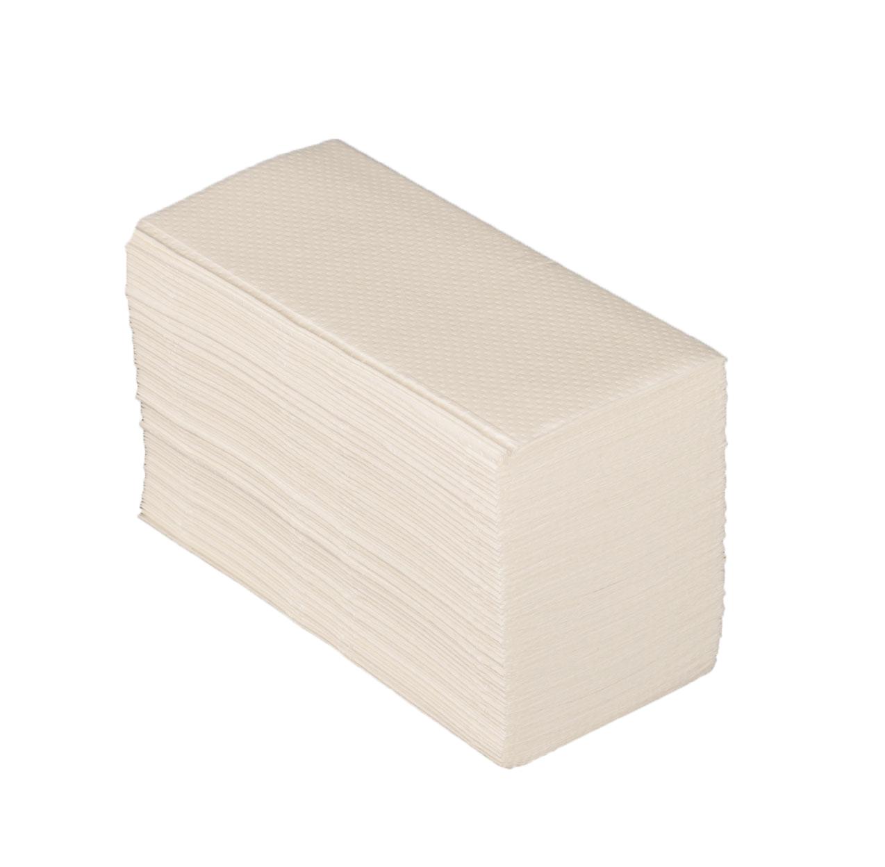 HANDTOWEL - White Vfold 23x25cm (eco.1p)