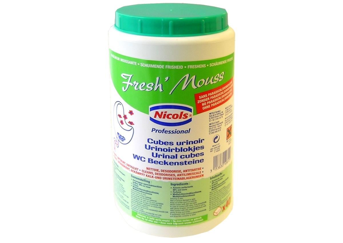 NICOLS geur urinoirsteentjes 40st/kg