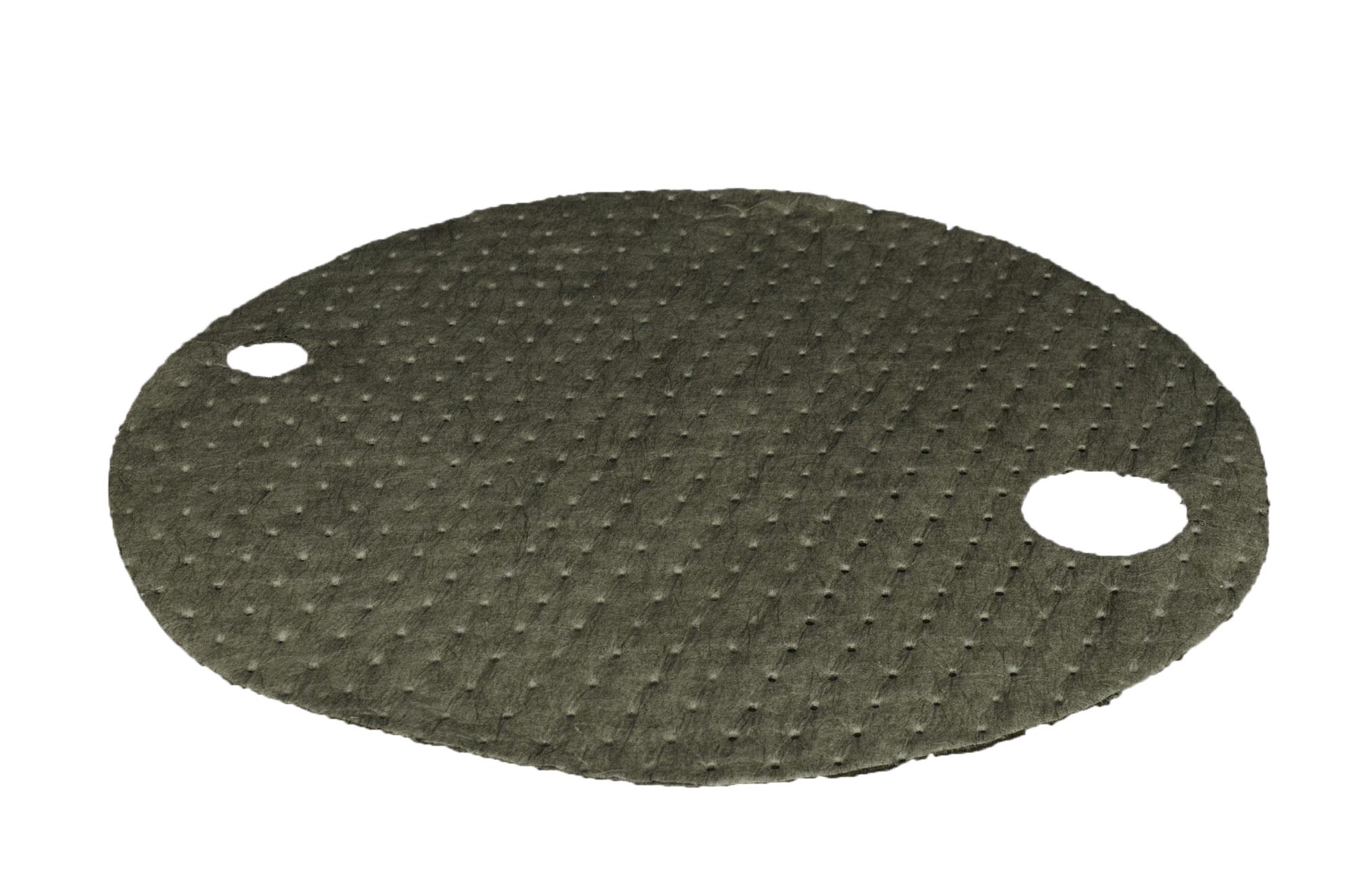 DRUMTOPS - Grey d.56cm 25pcs (uni.)