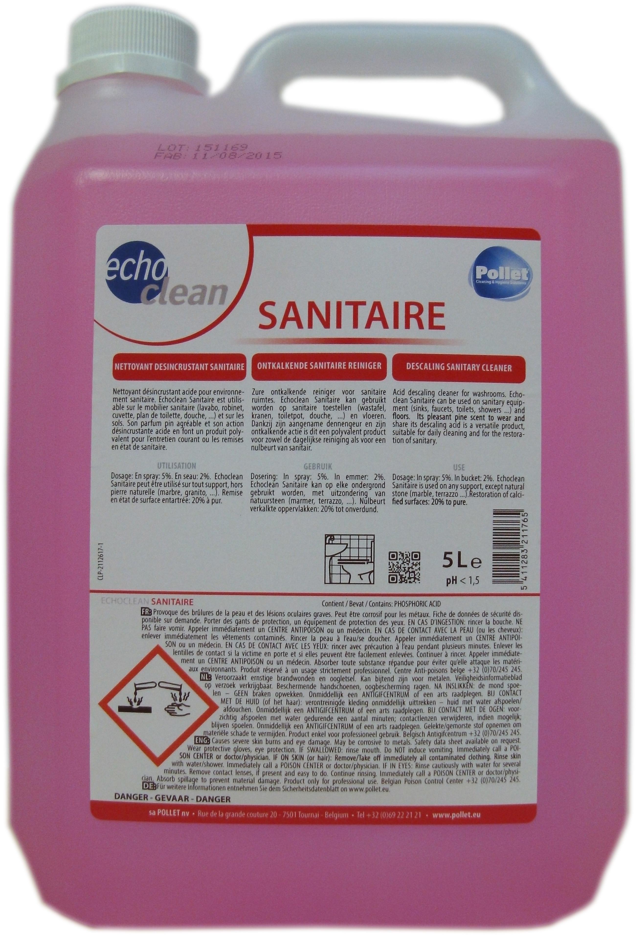ECHOCLEAN sanitaire