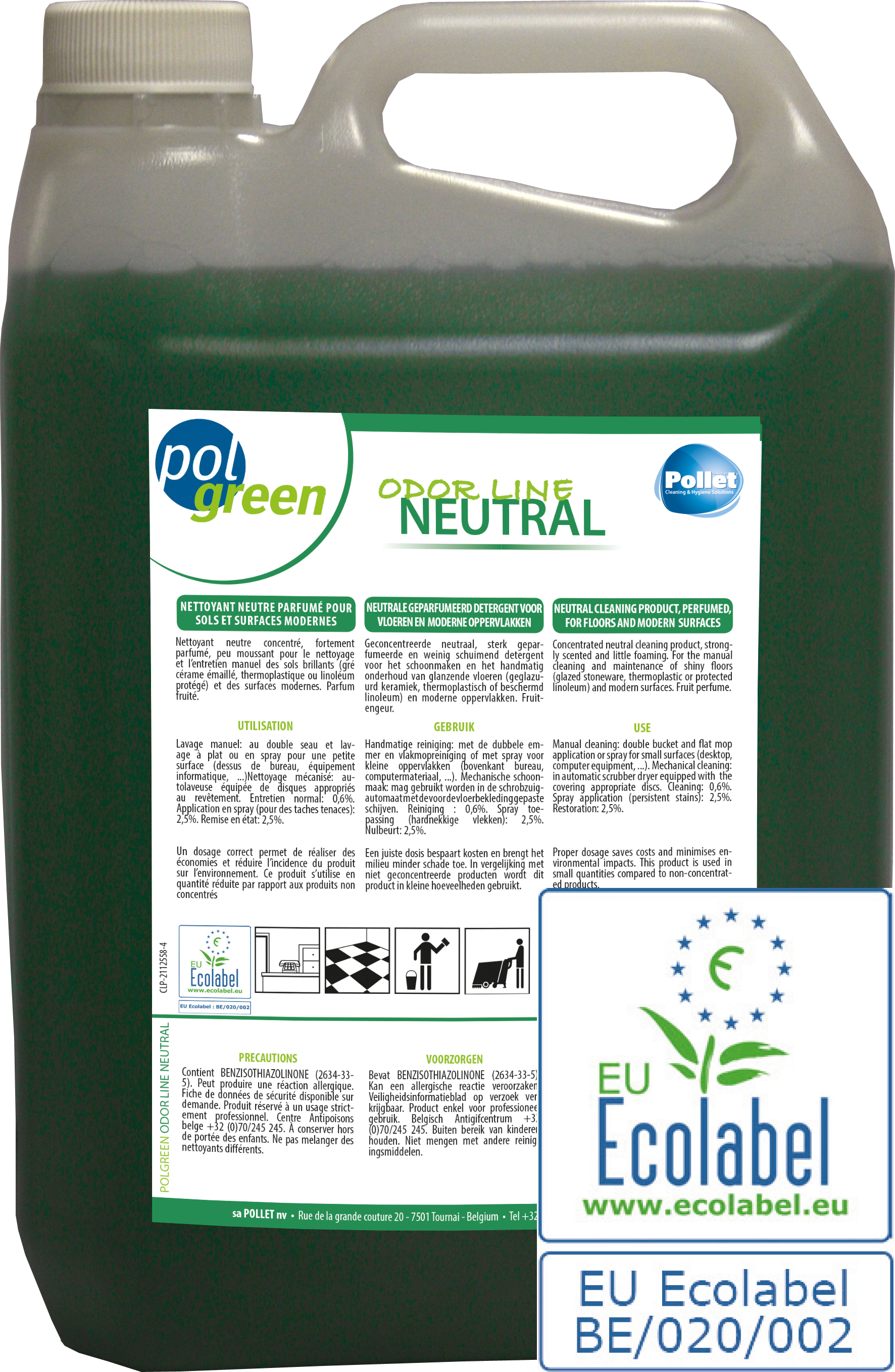POLGREEN odorline neutral