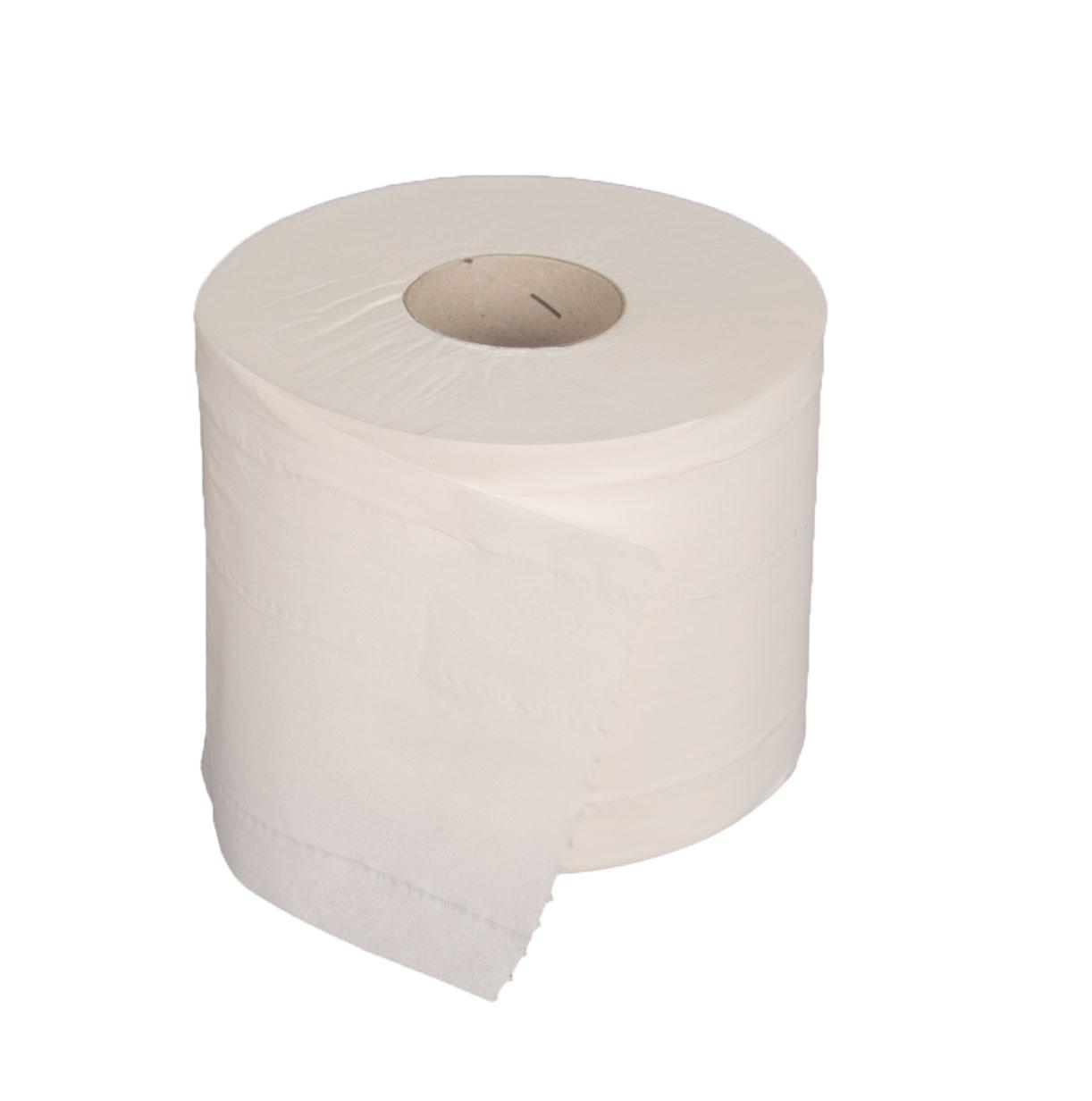 Toiletpapier 2-laags,centraal systeem