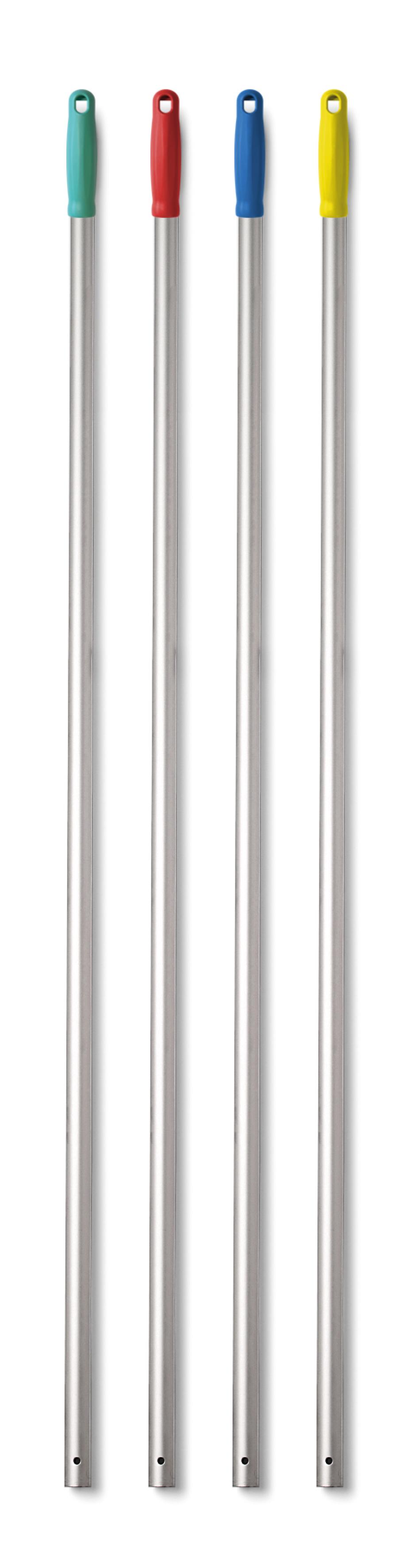 TTS aluminium steel groen hand + gat