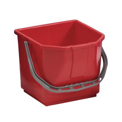 TTS emmer 15 liter rood