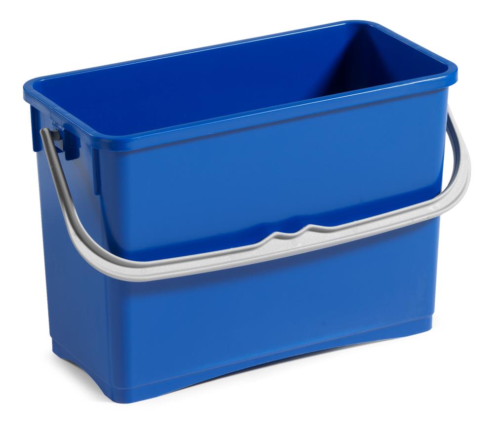 TTS emmer hermetic blauw + handvat