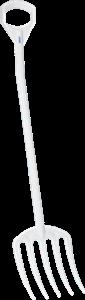 VIKAN riek - steel 127cm - haccp