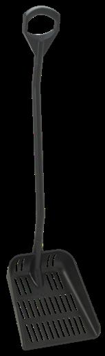 VIKAN uitlekschop lange steel groot blad