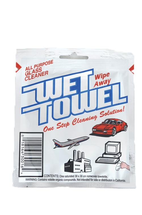 WETTOWEL - Qfold 31x29cm 200x1sh